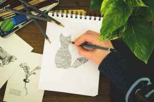 art materials draw drawing eraser